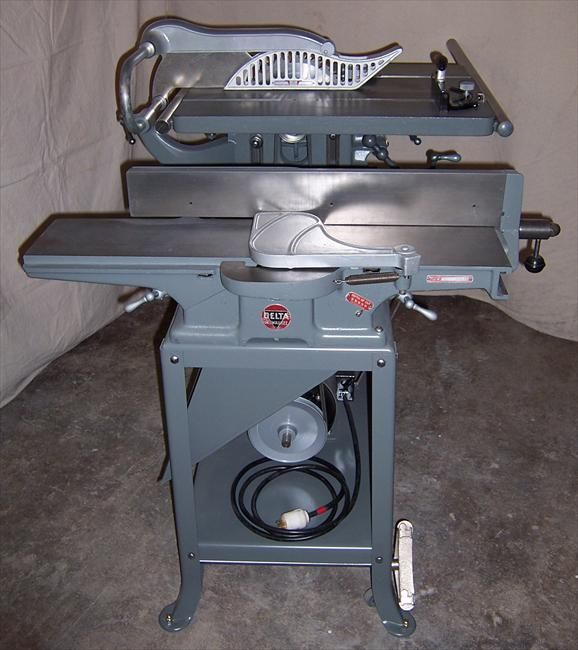 Photo Index Delta Manufacturing Co Table Saw Jointer Combo
