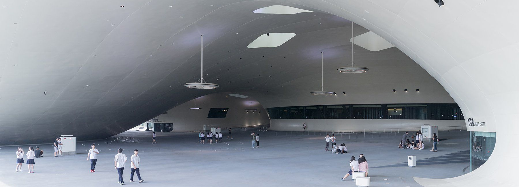 The World S Largest Performing Arts Center Opens In Taiwan Performing Arts Center Architecture Project Kaohsiung
