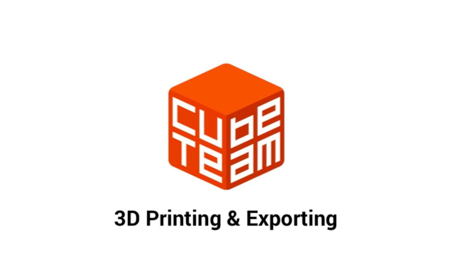 CubeTeam Tutorial: 3D Printing & Exporting