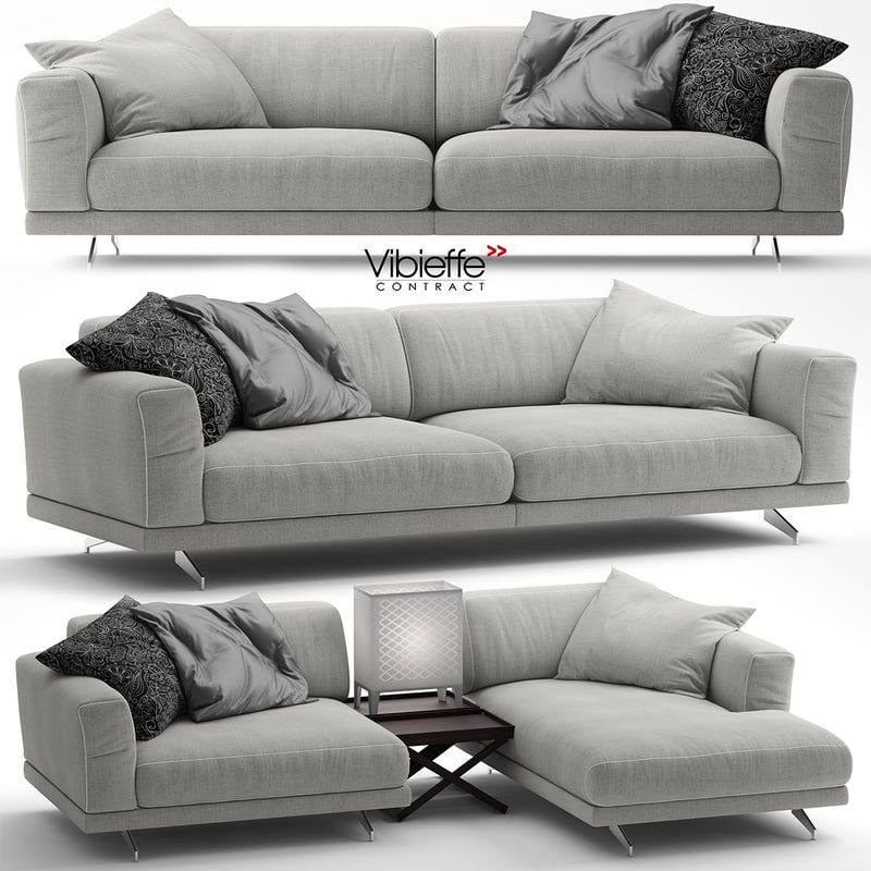 3d Vibieffe 470 Fancy Model Sofa Scandinavian Sofas Lounge Interiors