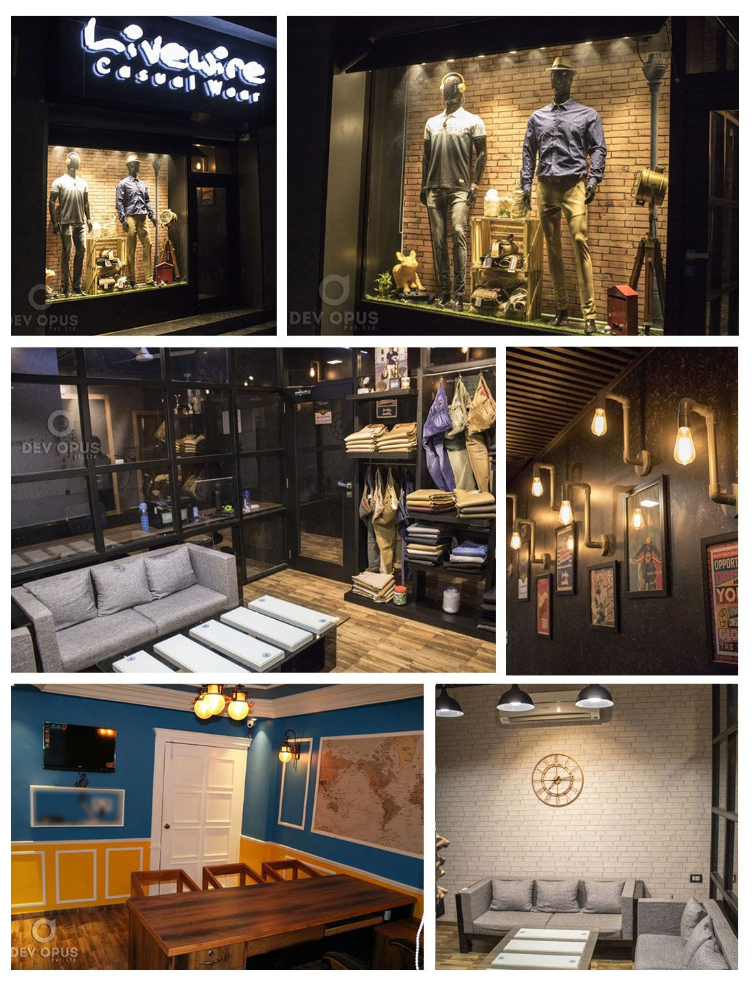 Interior design for corporate office of garment brand in india vintage and themed creative inspiration ideas also dev opus pvt ltd devopus on pinterest rh