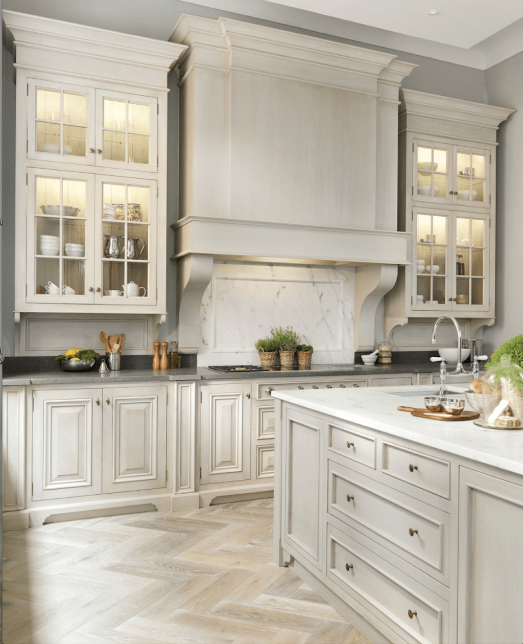 Kitchen Ideas With Off White Cabinets: Best Off White Kitchen Cabinets Design Ideas (75)