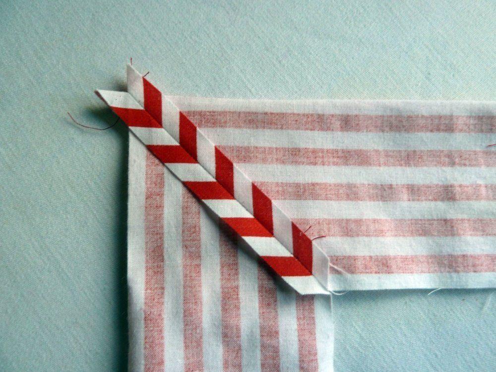 Nähanleitung für Briefecken - so geht es ganz einfach!