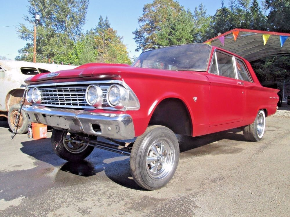 eBay: 1962 Ford Fairlane 2 Door Vintage Style Gasser Straight Axle ...