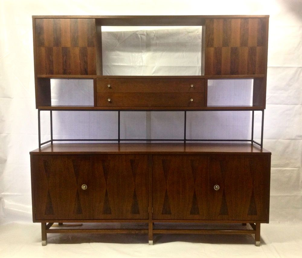 mid century modern 72 stanley walnut sideboard server buffet mid century modern 72 stanley walnut sideboard server buffet credenza hutch bar danishmodern