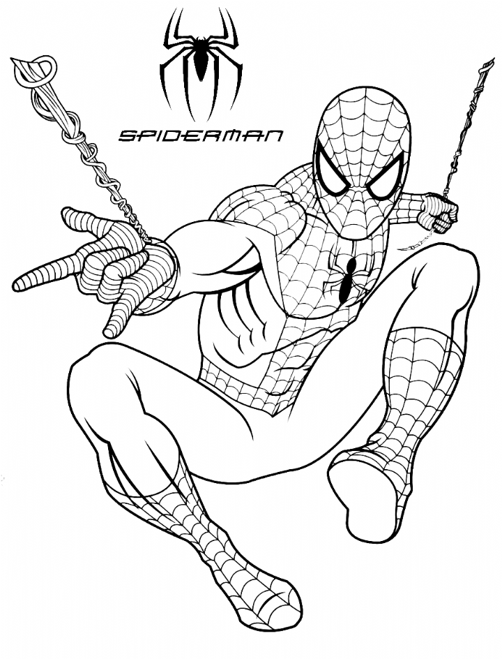 Spiderman Web Shooting Coloring Pages For Kids Bubakids Com Coloring Pages For Kids Avengers Coloring Pages Superhero Coloring Pages Cartoon Coloring Pages