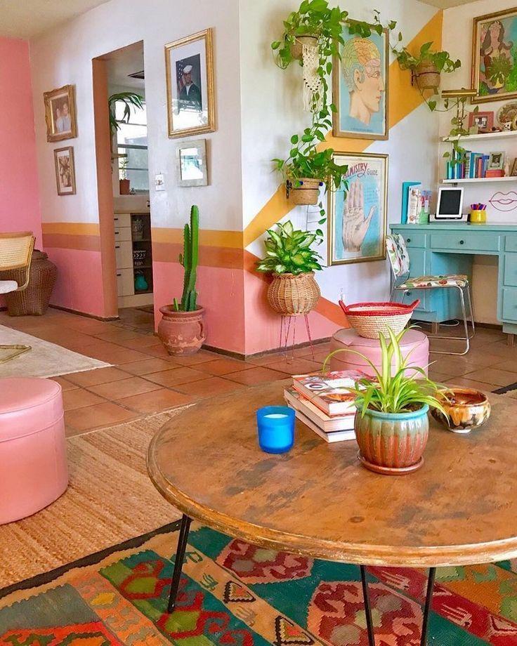 Neue stilvolle böhmische Wohnkultur-Ideen #bohemianhome