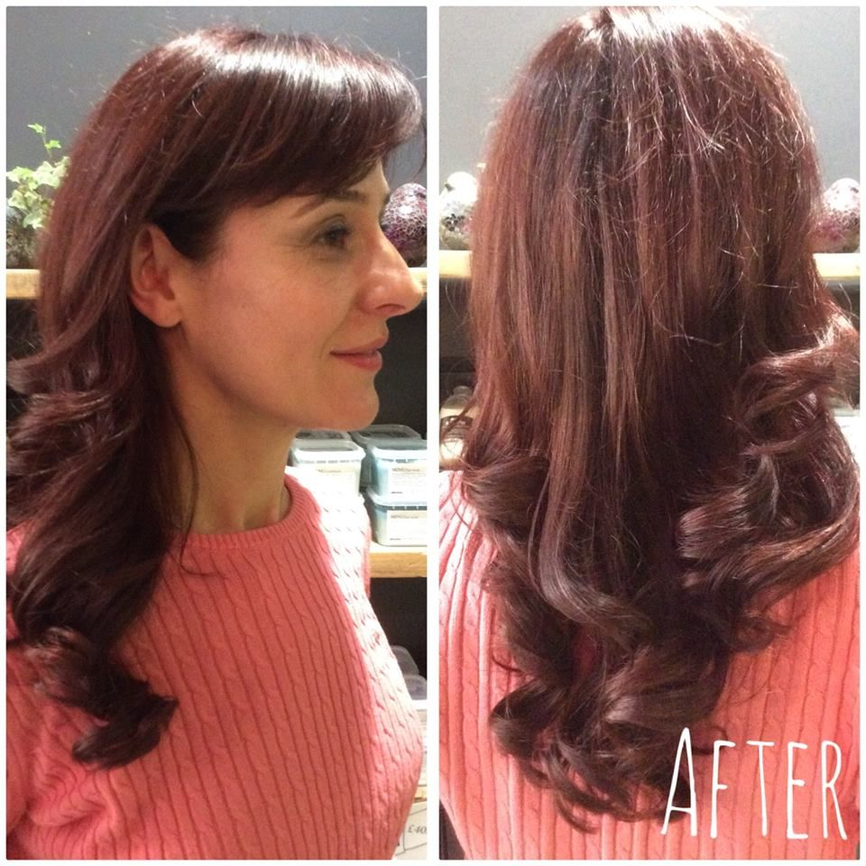A stunning finish by Jenna with Davines colour. Book online @ www ...