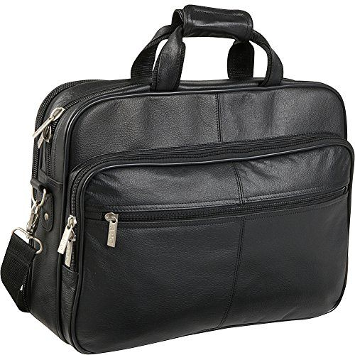 70421f26bf15e4 AmeriLeather Genuine Laptop Softside Briefcase Black   For more  information