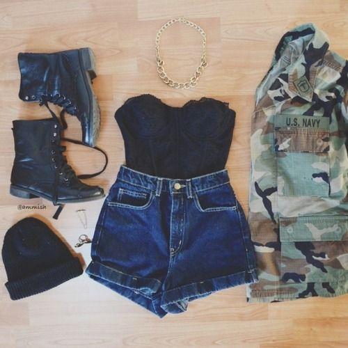 Pics For Teenage Fashion Tumblr Summer Summer Outfits - Teenage tumblr fashion
