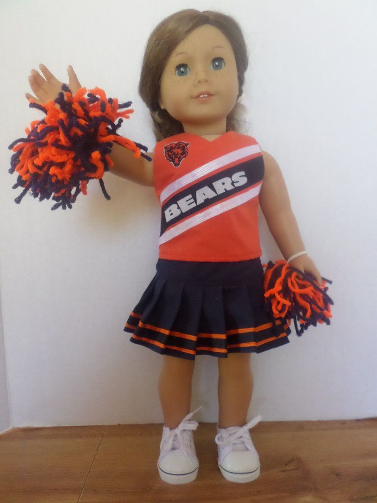 Chicago Bears cheerleader outfit American made to fit 18 inch girl dolls #18inchcheerleaderclothes Chicago Bears cheerleader outfit American made to fit 18 inch girl dolls #18inchcheerleaderclothes Chicago Bears cheerleader outfit American made to fit 18 inch girl dolls #18inchcheerleaderclothes Chicago Bears cheerleader outfit American made to fit 18 inch girl dolls #18inchcheerleaderclothes