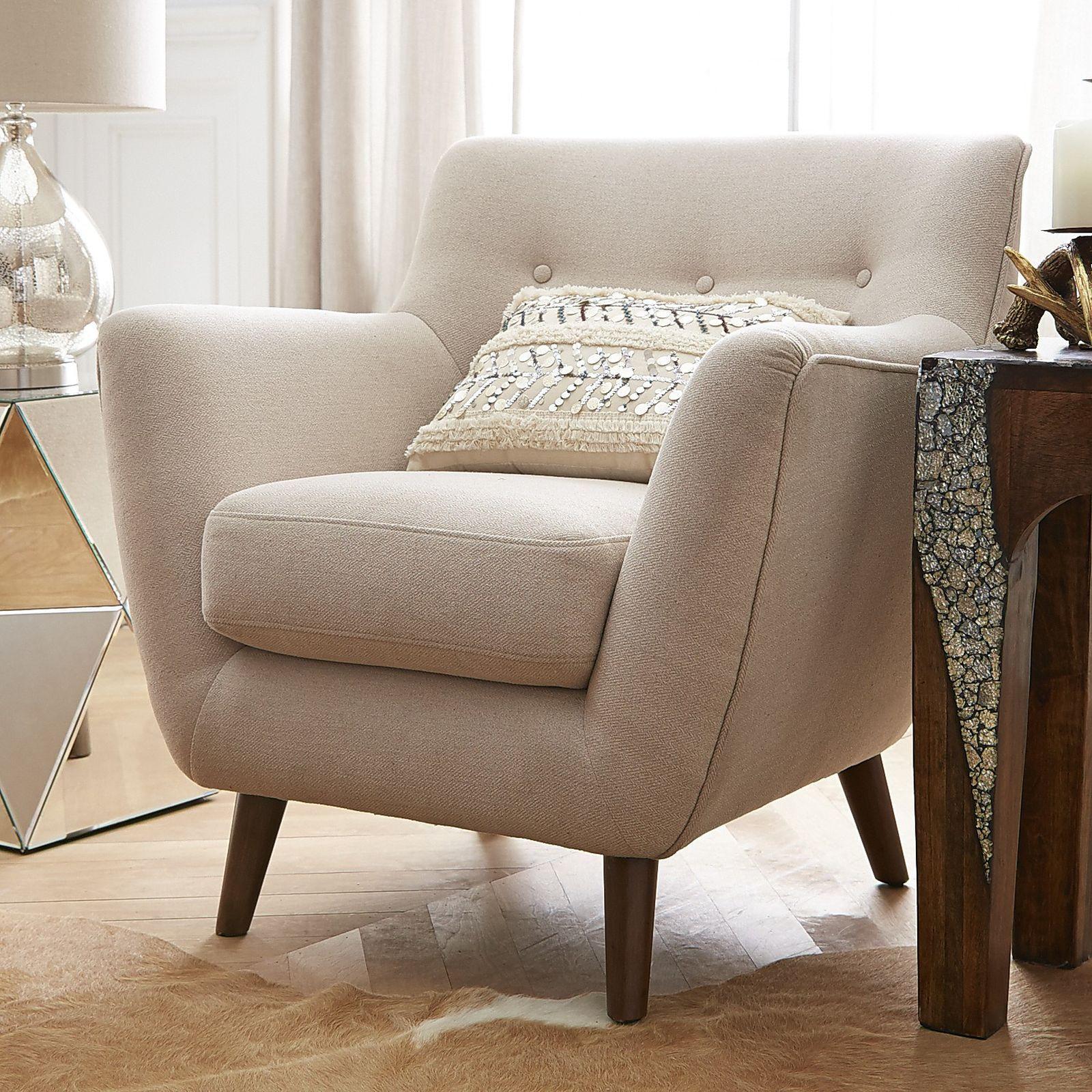 Mitzi Chair - Stone  Quality living room furniture, Furniture