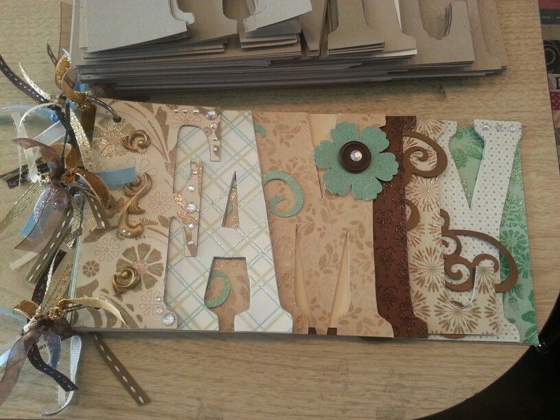 Family chipboard class at 3 Craft Chicks ~ the COOP.