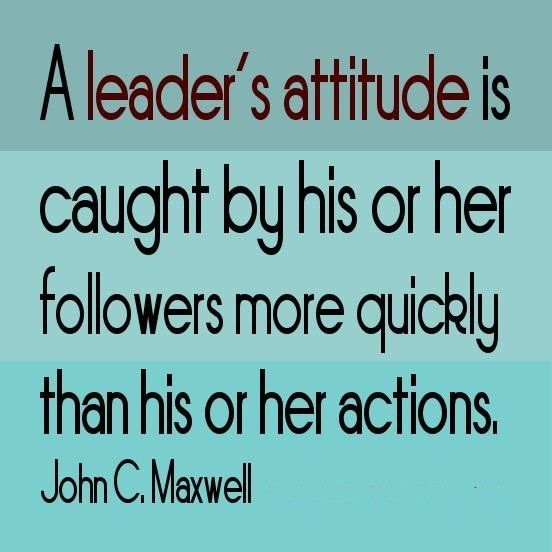 Leader Quotes Delectable It's All About The Attitudehttpitzmy  Quotes 3 . 2017
