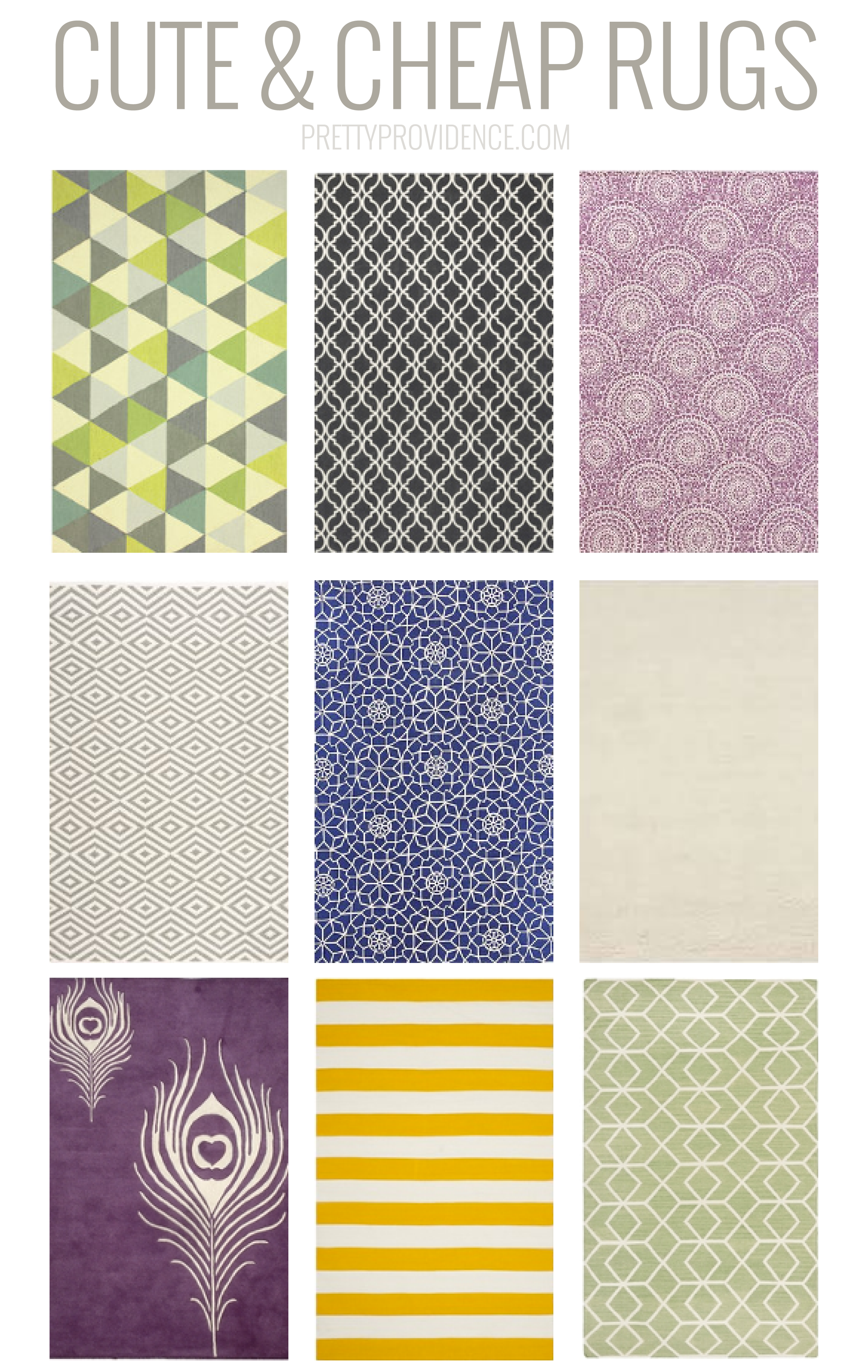 Best place to buy an area rug - Cute Cheap Rugs Roundup 6