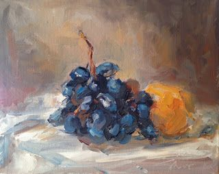 Donna Shiver Apple A Day Works: Painting Knives for Creamy Application of Paint......