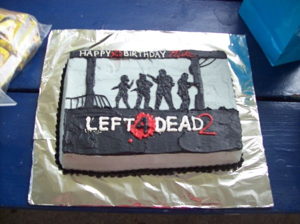 Left 4 Dead 2 Cake | Gamer Cake Ideas | Left 4 dead, Cake