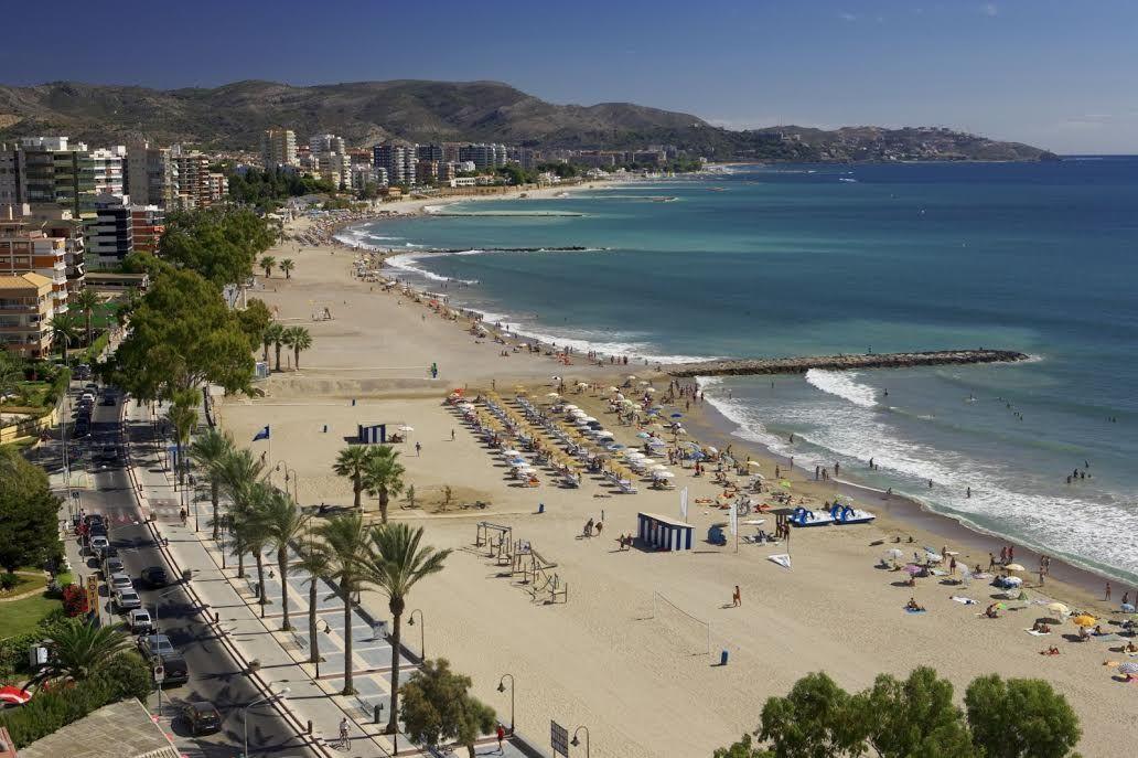 Panoramica De La Playa De Benicasim Benicasim Playas Turisticas Andalucia España