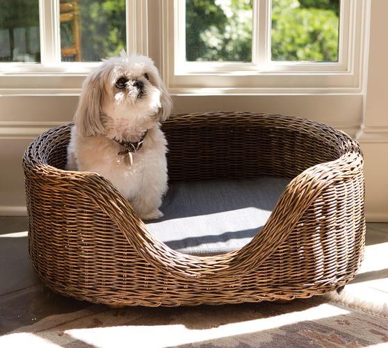Burma Rattan Pet Bed Pet bed, How to antique wood, Pet beds