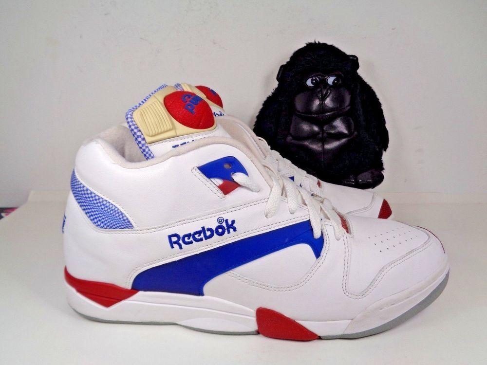 163211de35a5 Mens Reebok Court Victory Pump Hexalite Tennis Basketball shoes size 11 US  Red  Reebok  BasketballShoes