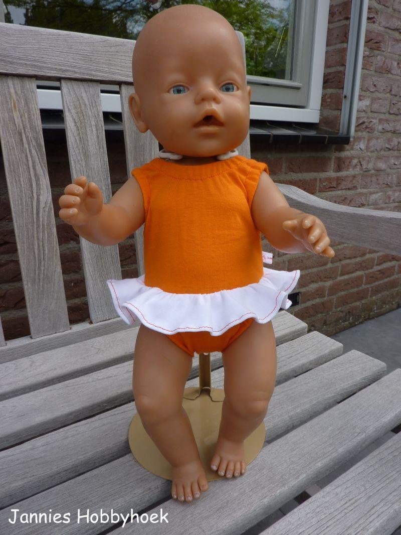 a08f5d816dbf4f Badpak BabyBorn 43cm., patroon Christel Dekker | Baby Born - Baby ...