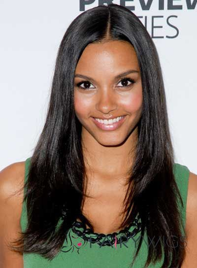 Dynamic Feeling from Medium Straight Black African American Lace Wigs for Women