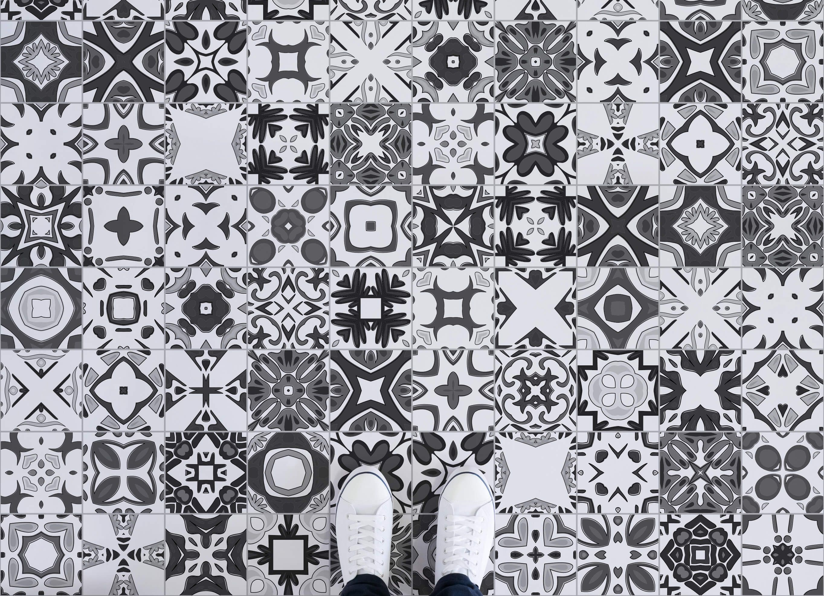 Portuguese Tile Vinyl Flooring floor Pinterest