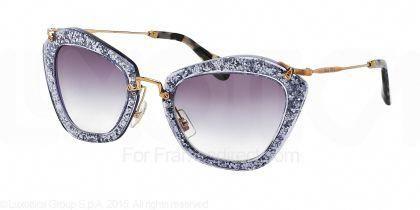 51bf08c9819f Miu Miu MU 10NS - Noir Sunglasses