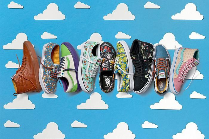 Vans dévoile une collection capsule Toy Story | Chaussures