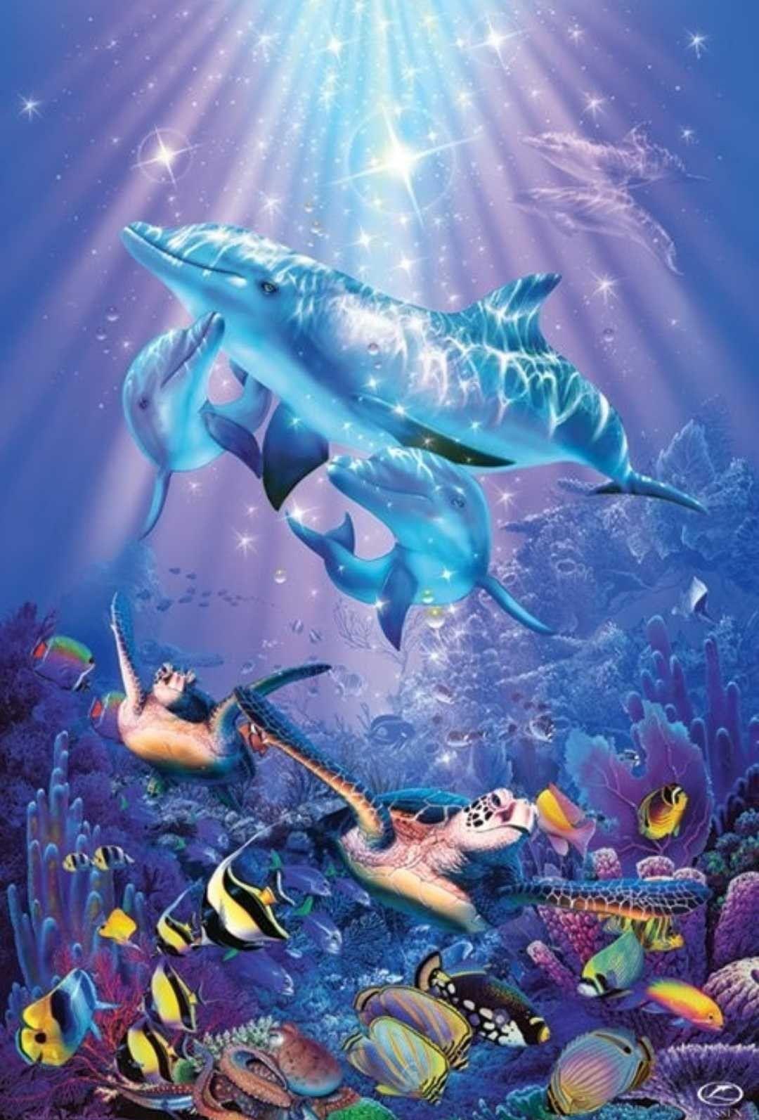Idea by mary kinsinger on animals1 in 2020 dolphin art