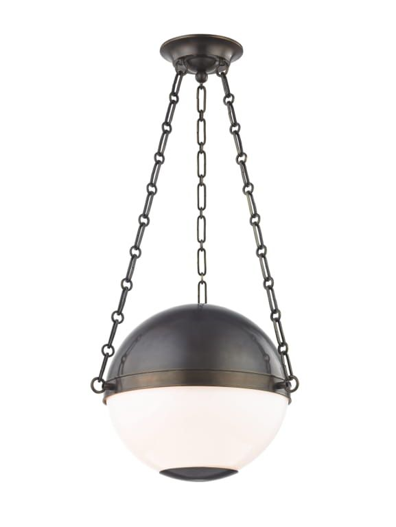 Sphere No 2 2 Light Small Pendant Db In 2020 Midcentury Modern