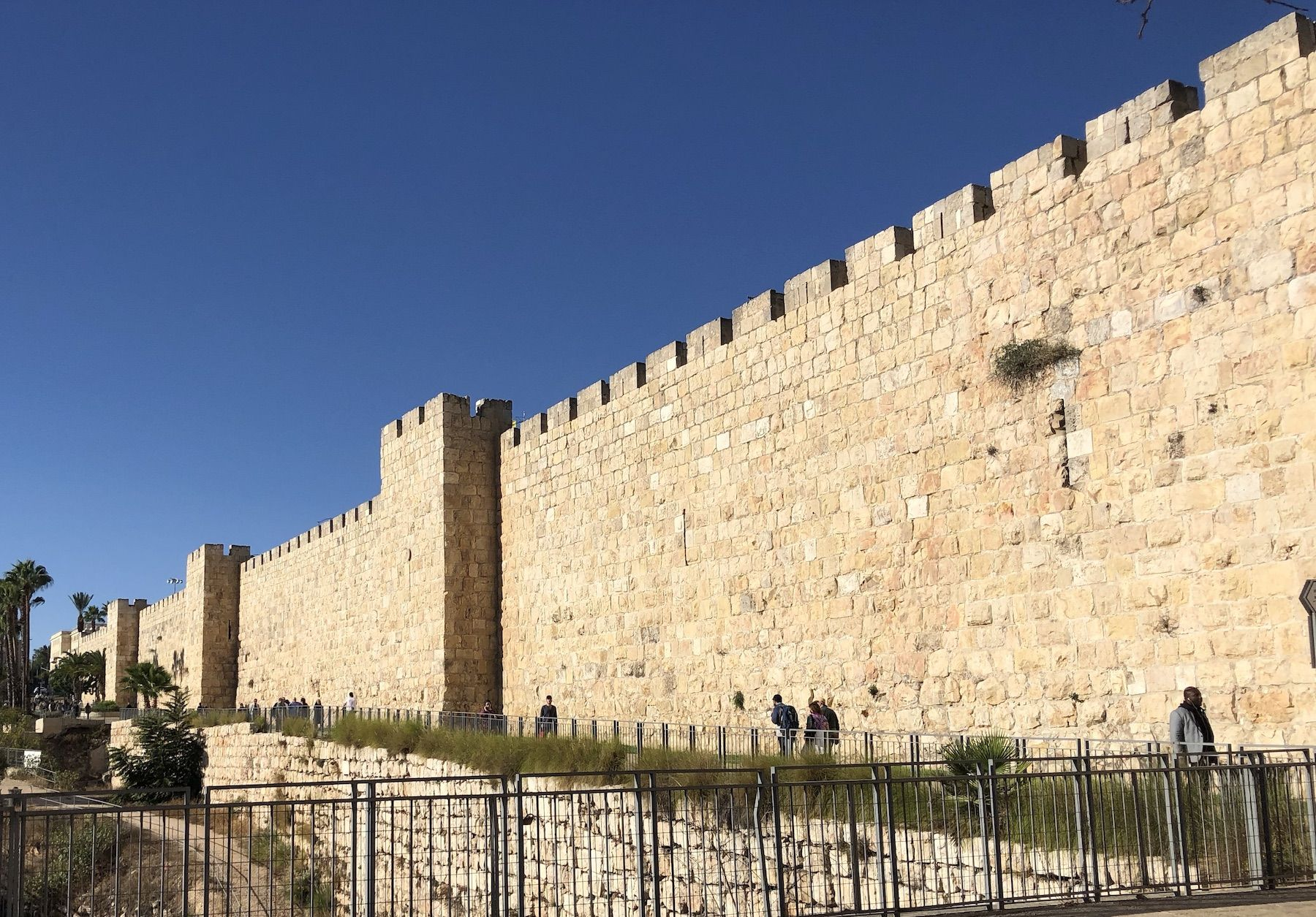 Day 8: Defensive wall surrounding Old City (1535AD ...   Cities Surrounding Jerusalem