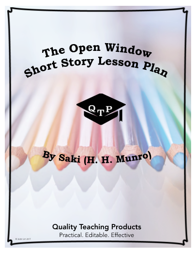 The open window by saki worksheet and answer key save yourself a the open window by saki worksheet and answer key save yourself a few hours this is a worksheet and key for the short story the open window by saki fandeluxe Choice Image