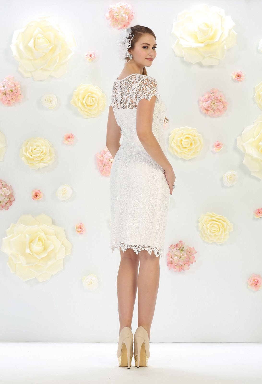 b6932f37f Short Cocktail Mother of the Bride Dress | dresses | Bride party ...
