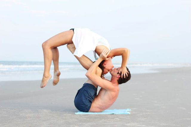 Photo By Gaurav Gehlot Couples Yoga Couples Yoga Poses Acro Yoga