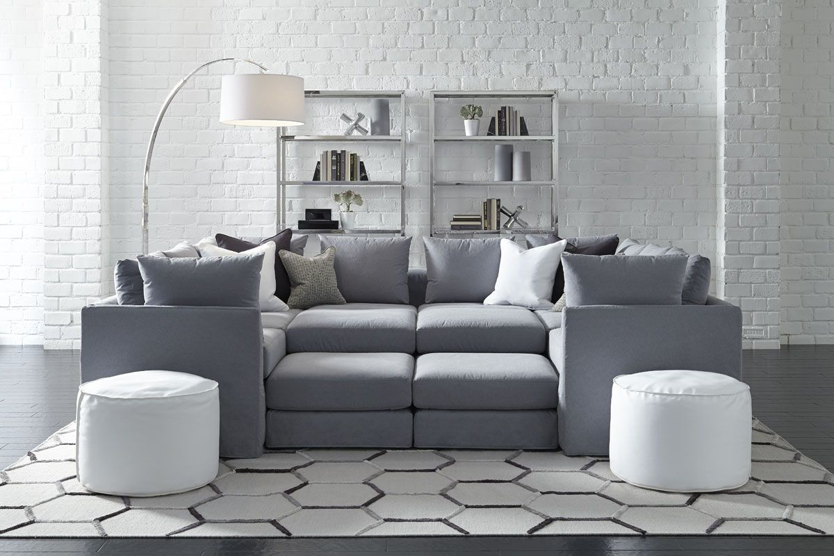 Modern Sofa Mitchell Gold Bob Williams Montr al Sofas u sectionnels Dr Pitt
