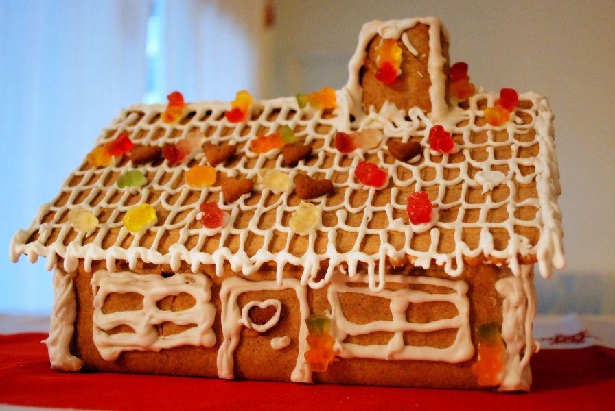 Norwegian gingerbread house