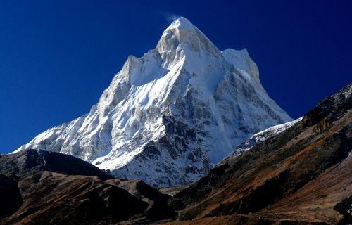 Beautiful Mount Shivling(Garhwal-Himalaya) India mount