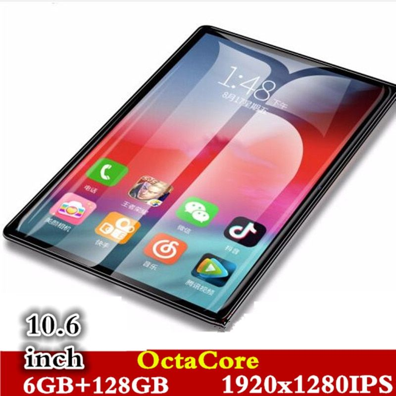 106 4g phone call tablets android 80 octacore 6g128g