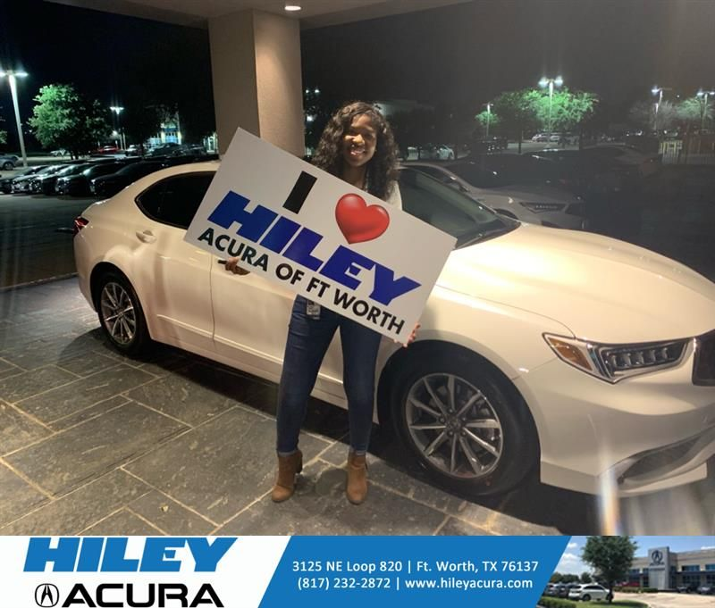 #HappyAnniversary to Katina and your 2020 #Acura #TLX from Everyone at Hiley Acura!