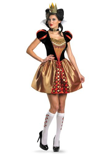 The Red Queen Costume $56