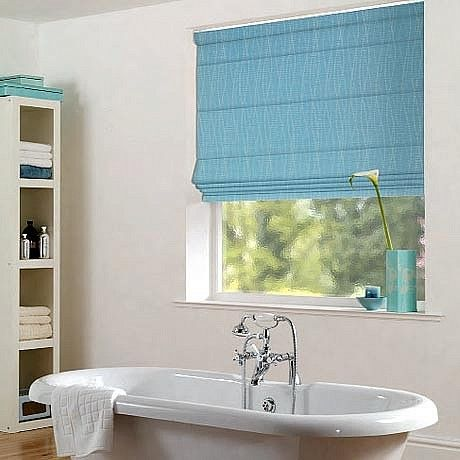 Bathroom Roman Blinds With Images