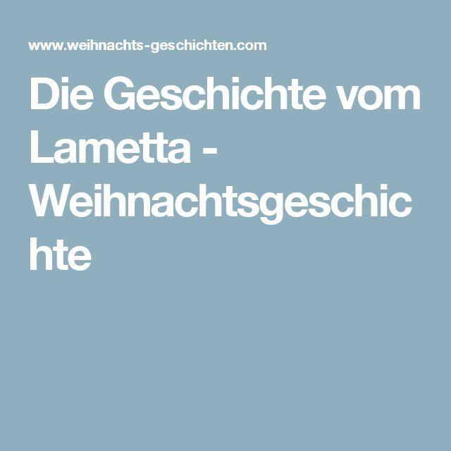 Die Geschichte vom Lametta   Weihnachtsgeschichte | Lustiges