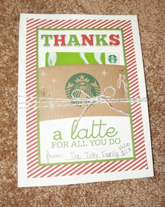 Thanks a latte for all you do printable found here http Thanks for all you do gifts