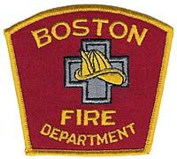 Boston Fire Department Logo  Boston Fire Department PatchJpg
