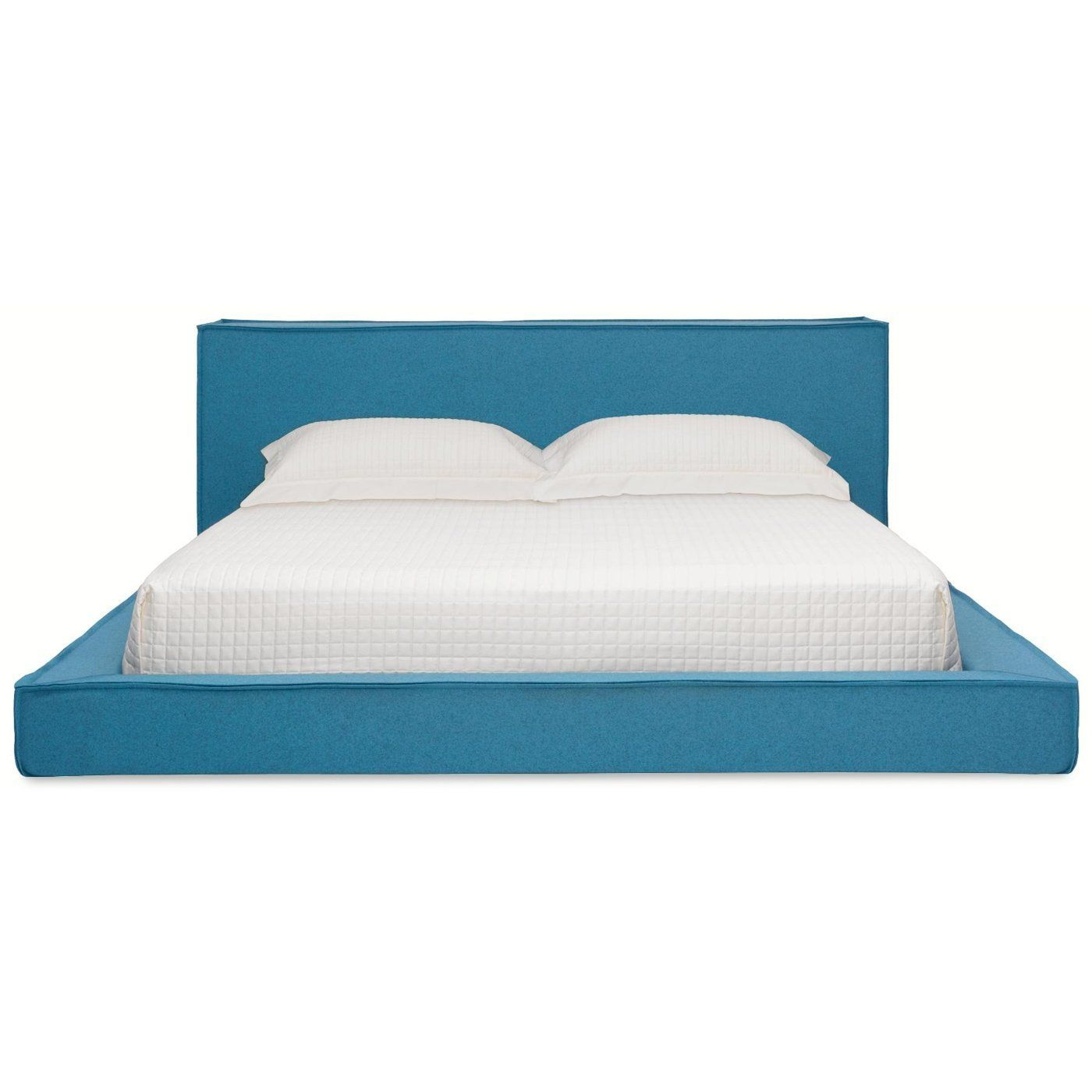 Amazon.com: Blu Dot Dodu King Bed, Aqua: Home & Kitchen | my \