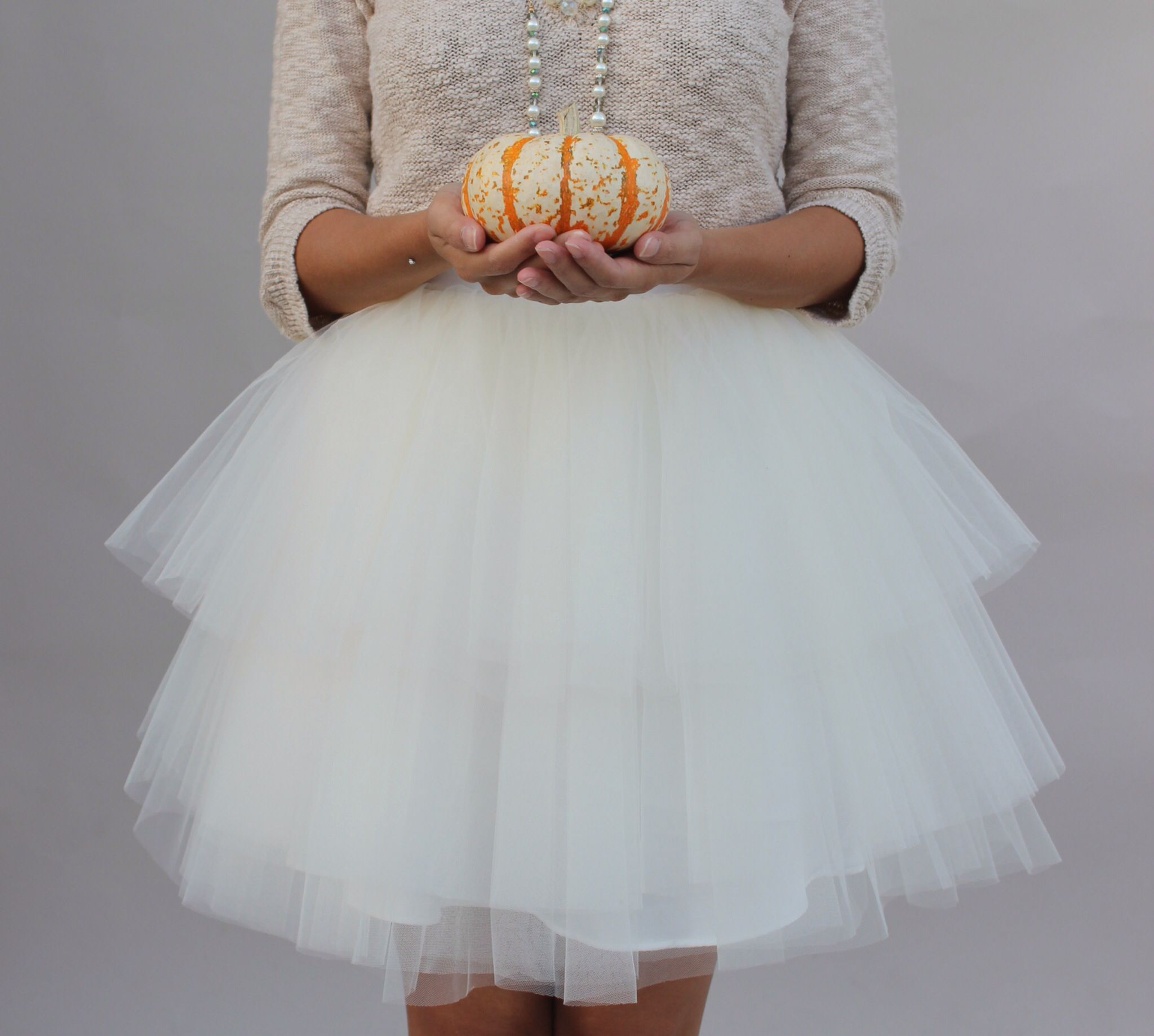 Carrie Bradshaw tulle skirt from www.space46boutique.com