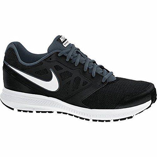 Nike Mens Downshifter 6 Black/White/Dk Magnet Grey Running Shoe 8 Men US