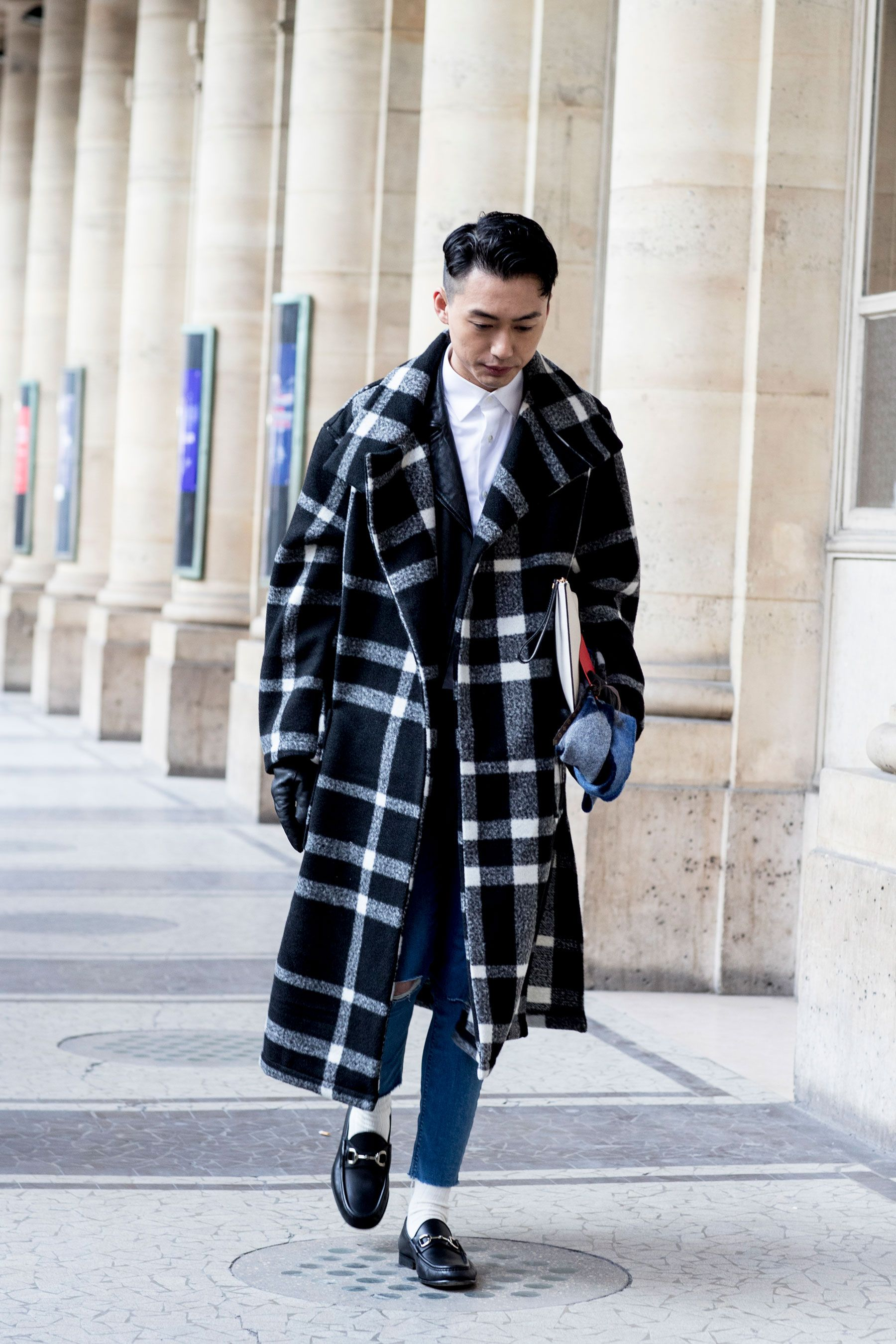 Paris men 39 s fashion week street style day 2 fall 2017 streets pinterest street styles Fashion street style pinterest