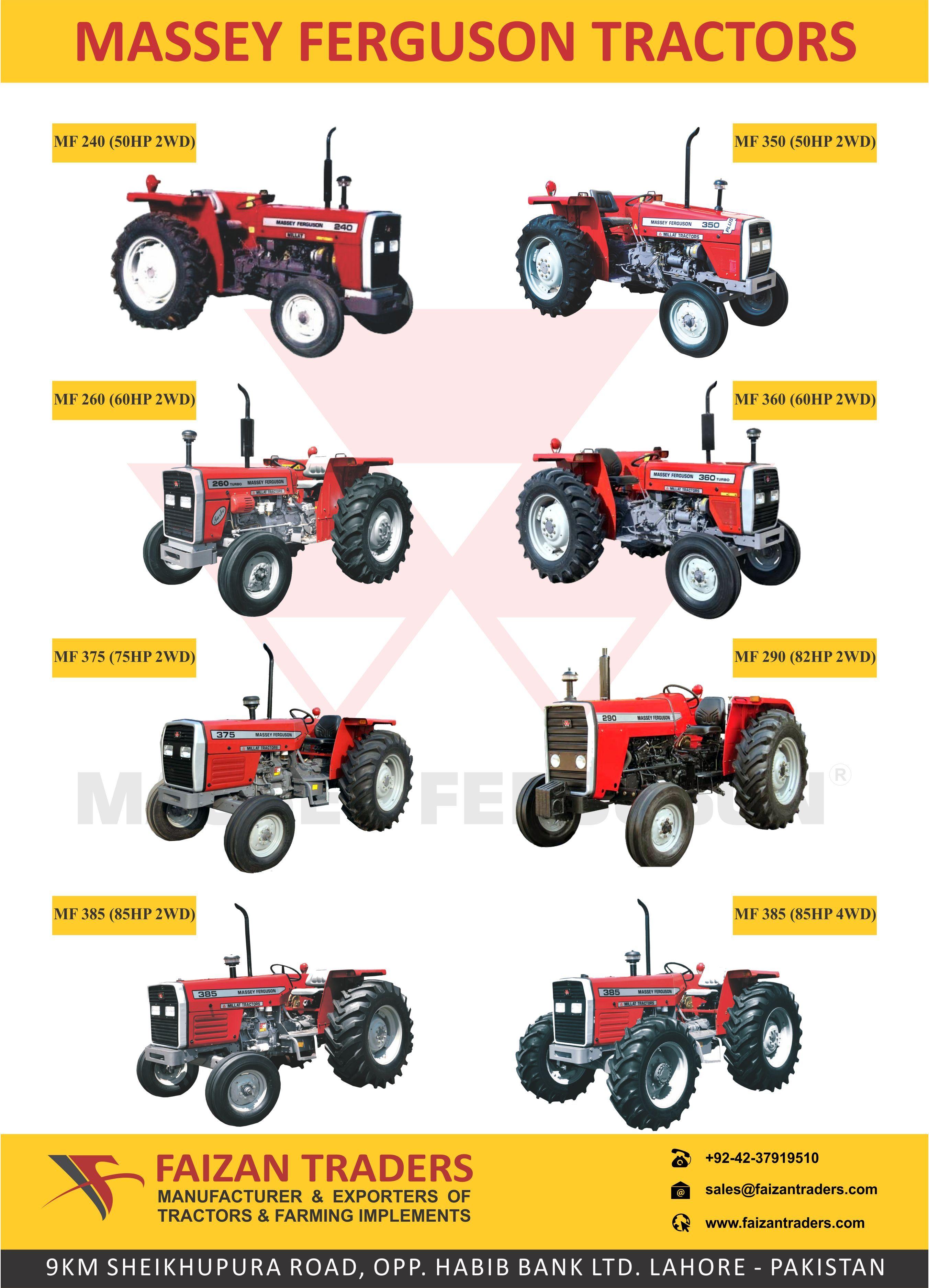 Berühmt Source Brand New Massey Ferguson Tractors from Pakistan | Tractors &HM_38